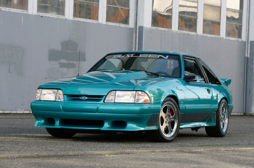 Mustang ford 1993 Saleen cars modified wallpaper