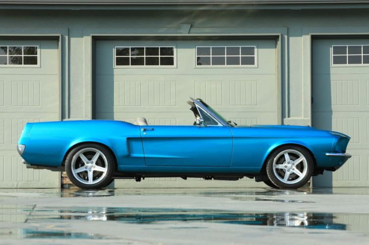 1967 Ford Mustang Convertible cars modified wallpaper