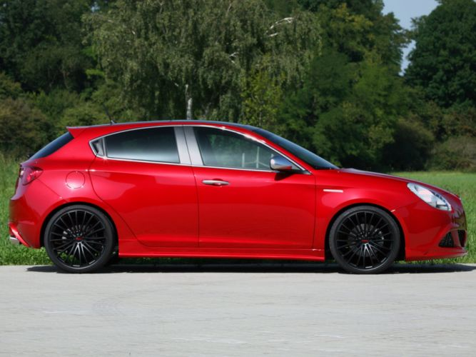 Novitec Alfa Romeo Giulietta cars modified 2011 wallpaper