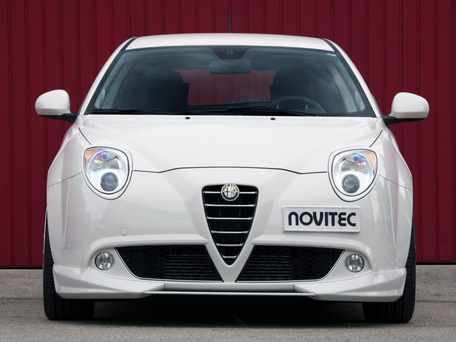 Novitec Alfa Romeo MiTo cars modified 2009 wallpaper