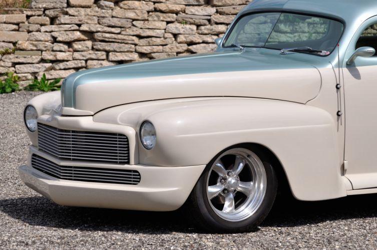 1946 Mercury Coupe Streetrod Hotrod Hot Rod Street USA 4200x2790-03 wallpaper