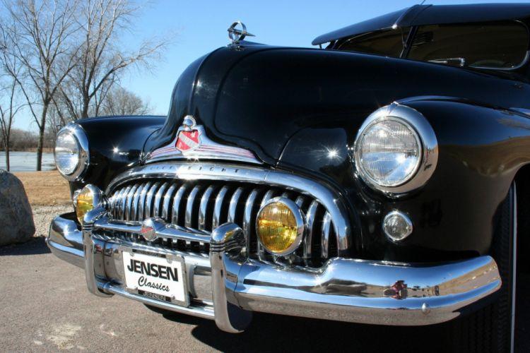 1947 Buick Special Sedan 4 Door Black Classic Old Vintage USA 1728x1152-03 wallpaper
