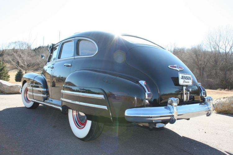 1947 Buick Special Sedan 4 Door Black Classic Old Vintage USA 1728x1152-10 wallpaper