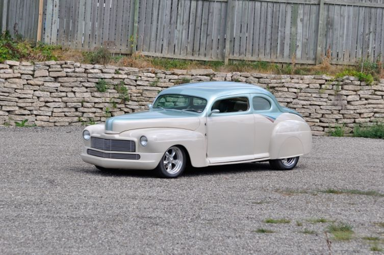 1946 Mercury Coupe Streetrod Hotrod Hot Rod Street USA 4200x2790-05 wallpaper