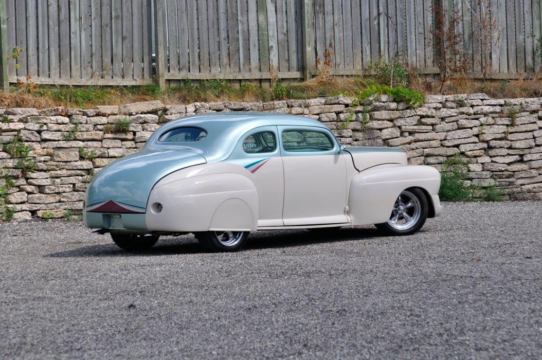1946 Mercury Coupe Streetrod Hotrod Hot Rod Street USA 4200x2790-06 wallpaper