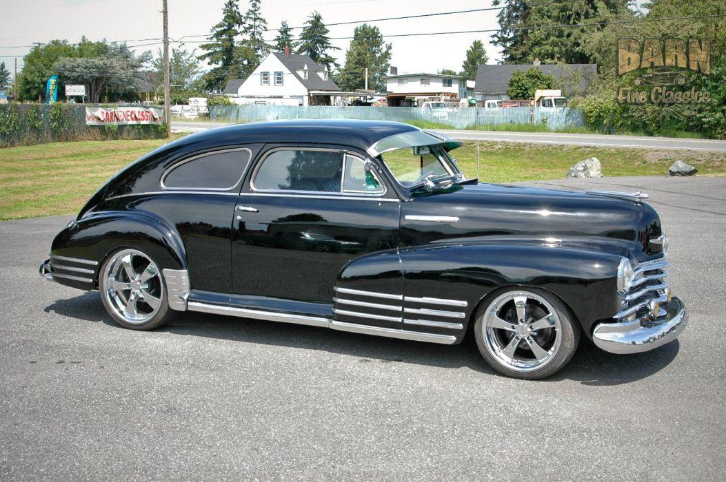 1947 Chevy Chevrolet Fleetline Hotrod Streetrod Hot Rod Street USA 1500x1000-04 wallpaper