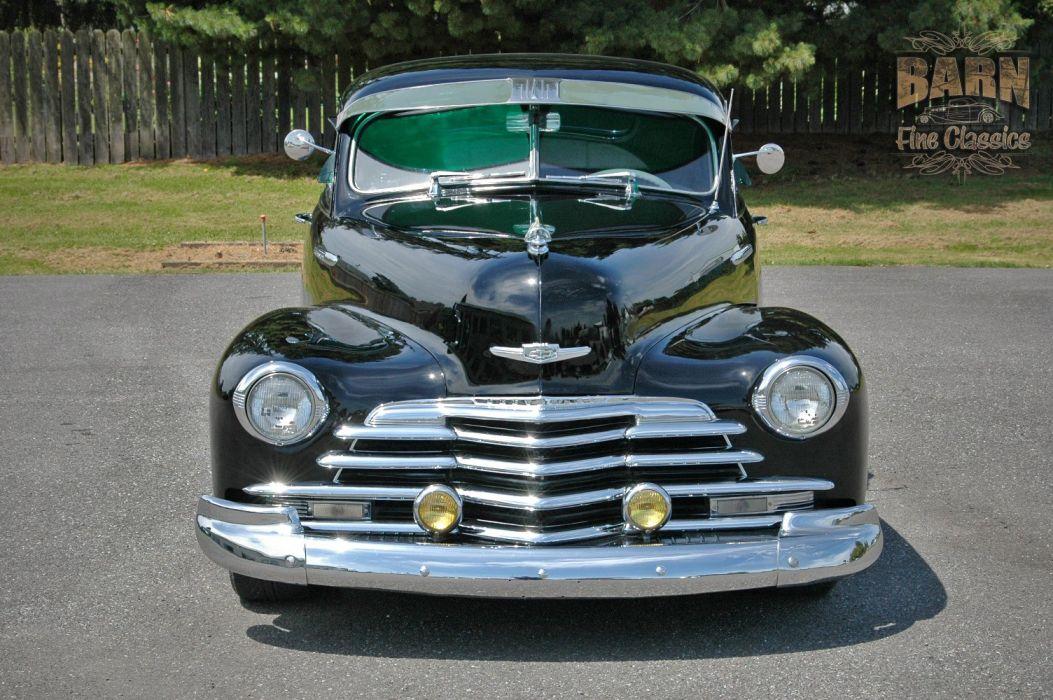 1947 Chevy Chevrolet Fleetline Hotrod Streetrod Hot Rod Street USA 1500x1000-07 wallpaper