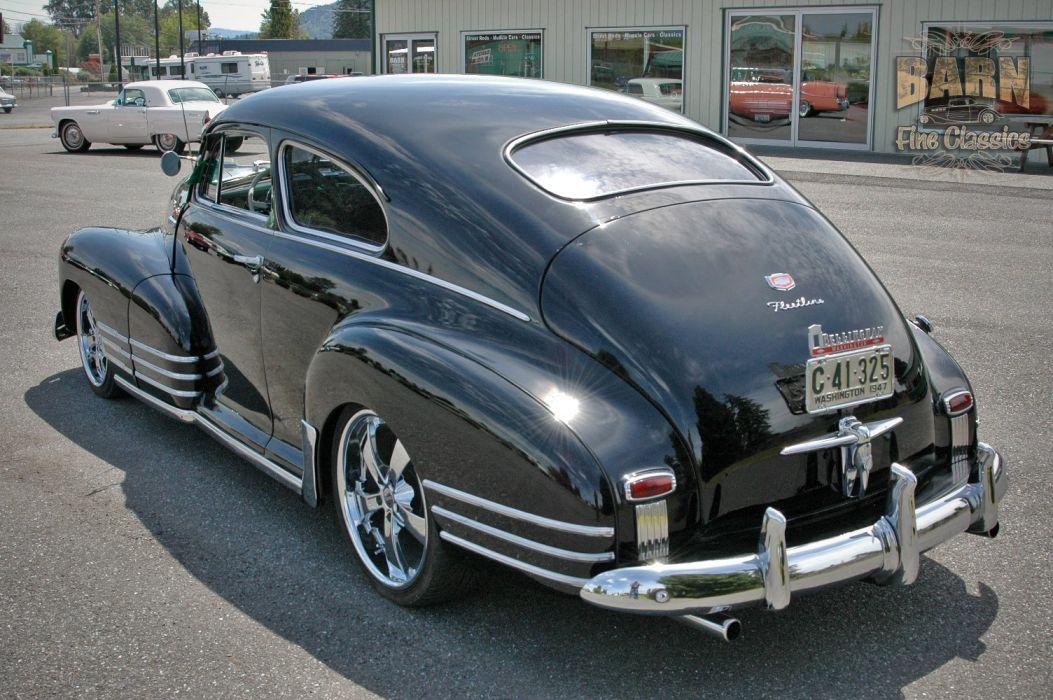 1947 Chevy Chevrolet Fleetline Hotrod Streetrod Hot Rod Street USA 1500x1000-11 wallpaper