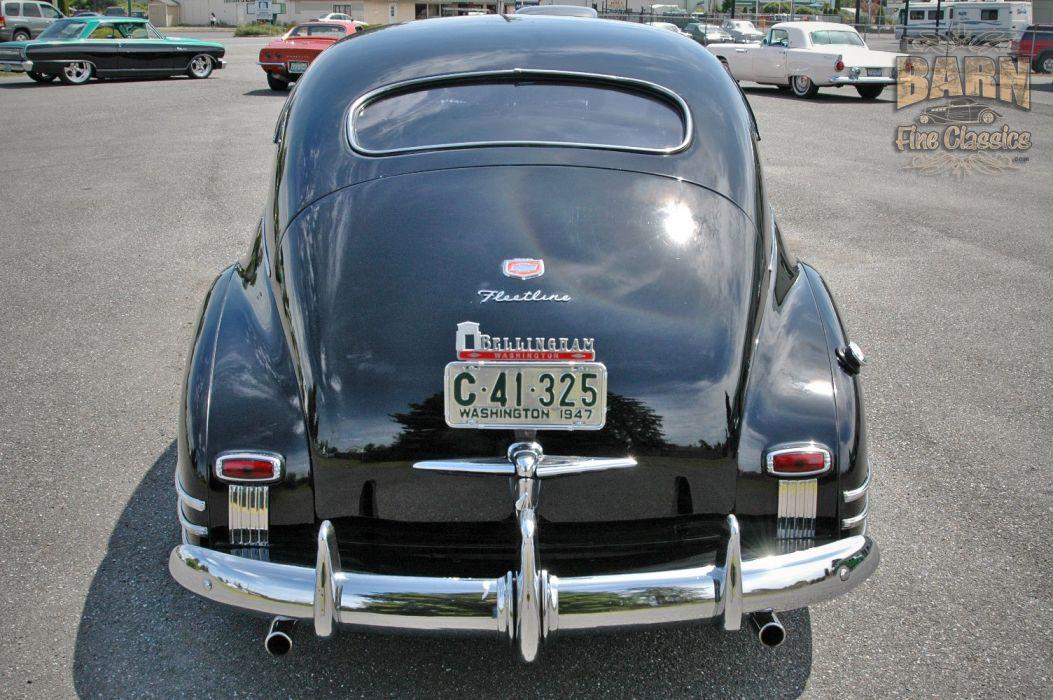 1947 Chevy Chevrolet Fleetline Hotrod Streetrod Hot Rod Street USA 1500x1000-13 wallpaper