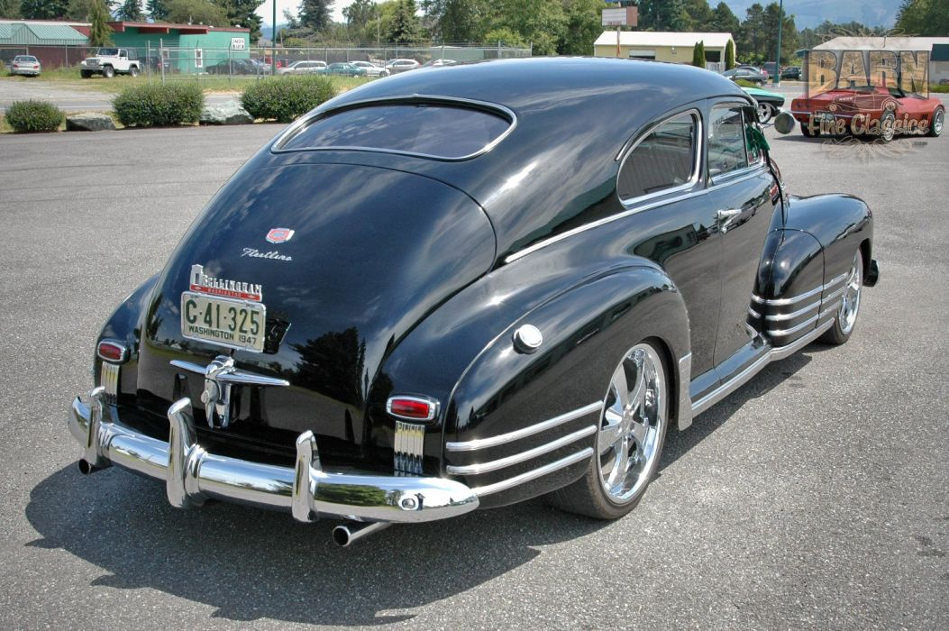 1947 Chevy Chevrolet Fleetline Hotrod Streetrod Hot Rod Street USA 1500x1000-15 wallpaper
