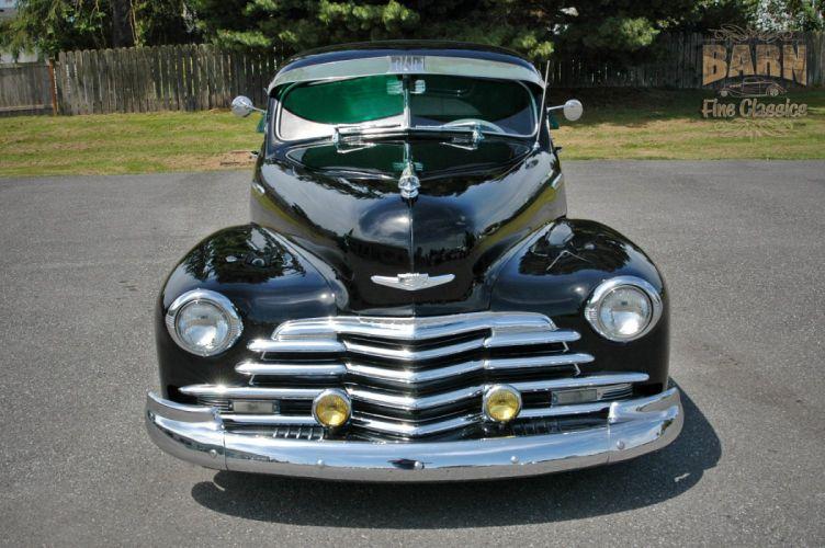 1947 Chevy Chevrolet Fleetline Hotrod Streetrod Hot Rod Street USA 1500x1000-20 wallpaper