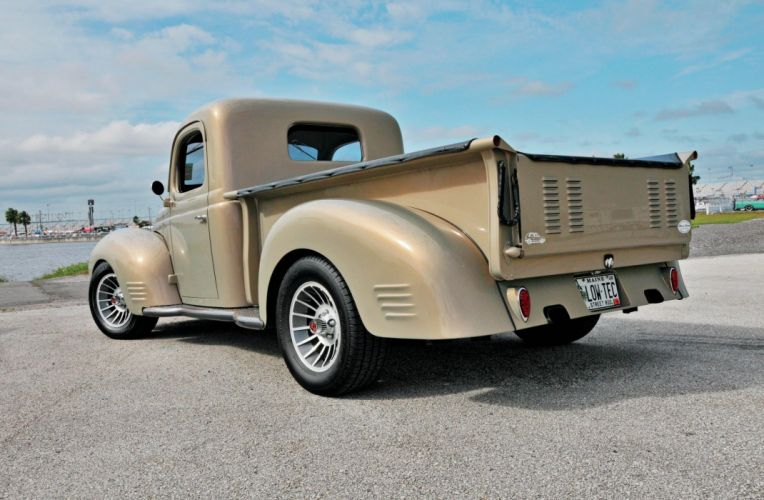 1947 Dodge Pickup Streetrod Street Rod Hot USA -02 wallpaper