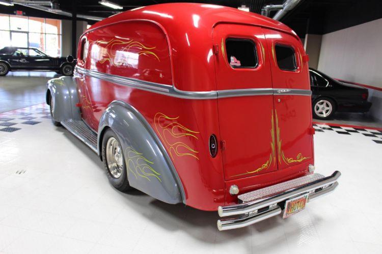 1947 Ford Panel Van Street Rod Streetrod Custom USA -09 wallpaper