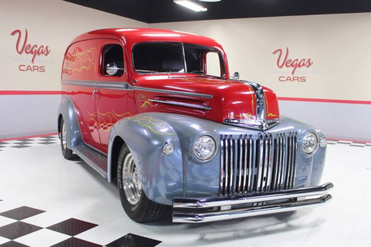 1947 Ford Panel Van Street Rod Streetrod Custom USA -13 wallpaper