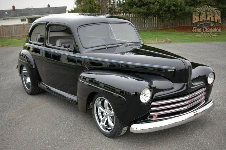 1947 Ford Sedan Hotrod Streetrod Hot Rod Street USA 1500x1000-13 wallpaper