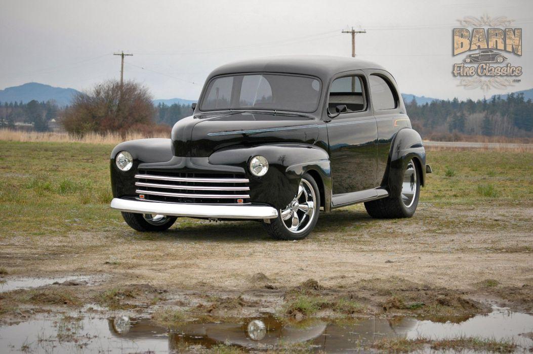 1947 Ford Sedan Hotrod Streetrod Hot Rod Street USA 1500x1000-20 wallpaper