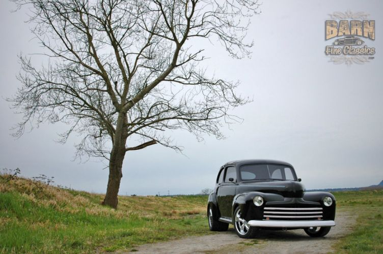 1947 Ford Sedan Hotrod Streetrod Hot Rod Street USA 1500x1000-21 wallpaper