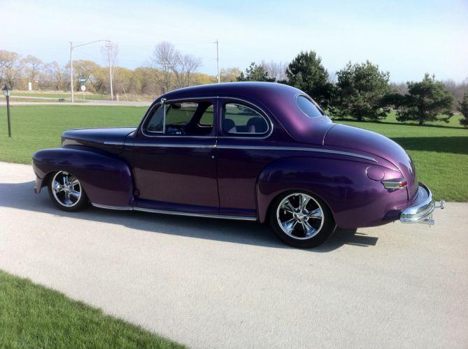 1947 Mercury Coupe Hiotrod Streetrod Hot Rod Street Custom USA 2592x1936-01 02 wallpaper
