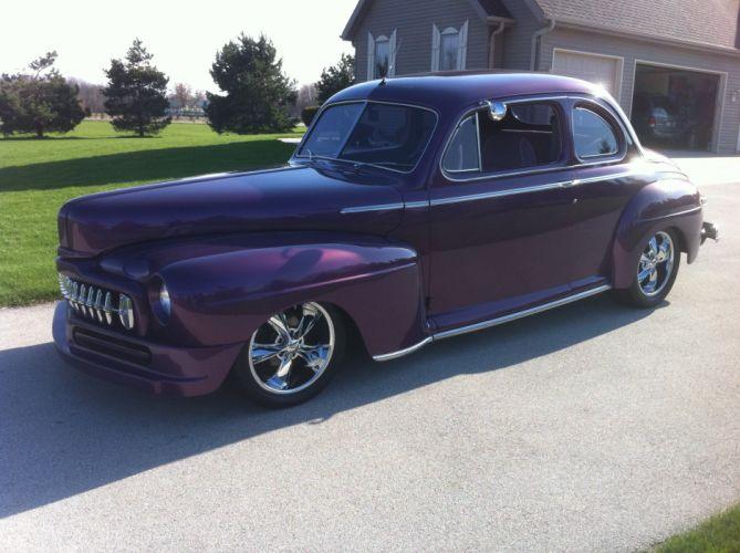 1947 Mercury Coupe Hiotrod Streetrod Hot Rod Street Custom USA 2592x1936-01 05 wallpaper