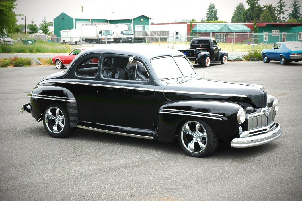 1947 Mercury Eight Coupe Hotrod Streetrod Hot Rod Street USA 1500x1200-05 wallpaper