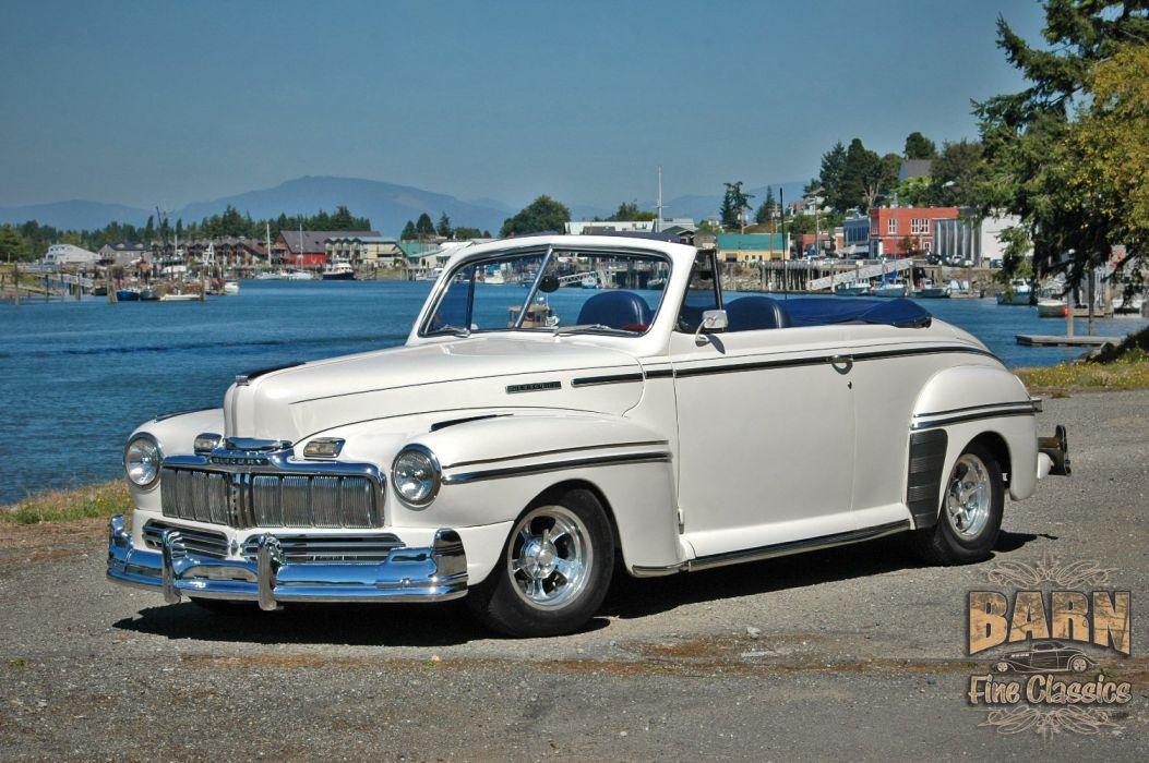 1947 Mercury Eight Deluxe Convertible Hotrod Streetrod Hot Rod Street USA 1500x1000-01 wallpaper