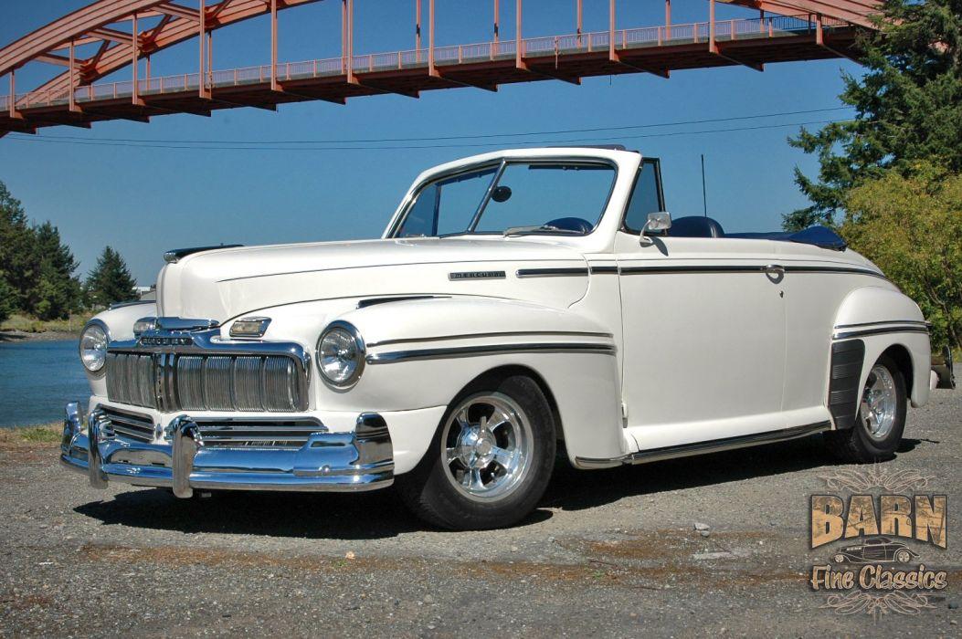 1947 Mercury Eight Deluxe Convertible Hotrod Streetrod Hot Rod Street USA 1500x1000-03 wallpaper