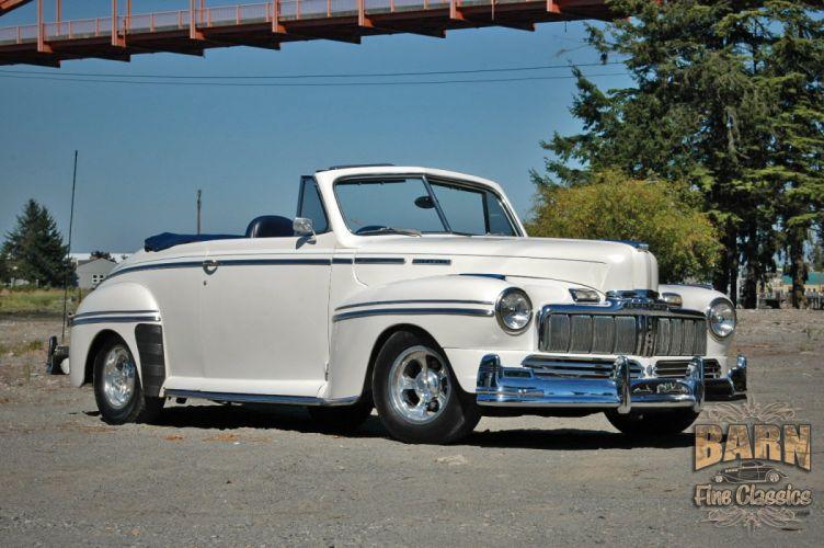 1947 Mercury Eight Deluxe Convertible Hotrod Streetrod Hot Rod Street USA 1500x1000-05 wallpaper