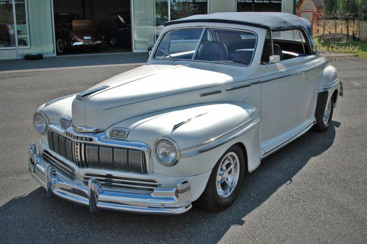 1947 Mercury Eight Deluxe Convertible Hotrod Streetrod Hot Rod Street USA 1500x1000-19 wallpaper