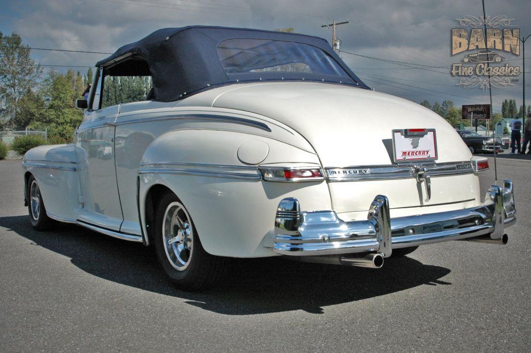 1947 Mercury Eight Deluxe Convertible Hotrod Streetrod Hot Rod Street USA 1500x1000-22 wallpaper