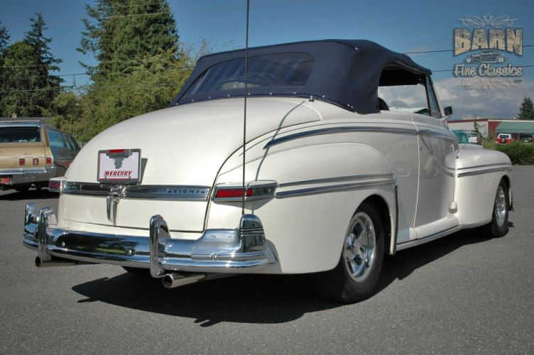 1947 Mercury Eight Deluxe Convertible Hotrod Streetrod Hot Rod Street USA 1500x1000-26 wallpaper