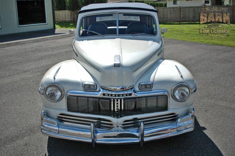 1947 Mercury Eight Deluxe Convertible Hotrod Streetrod Hot Rod Street USA 1500x1000-29 wallpaper