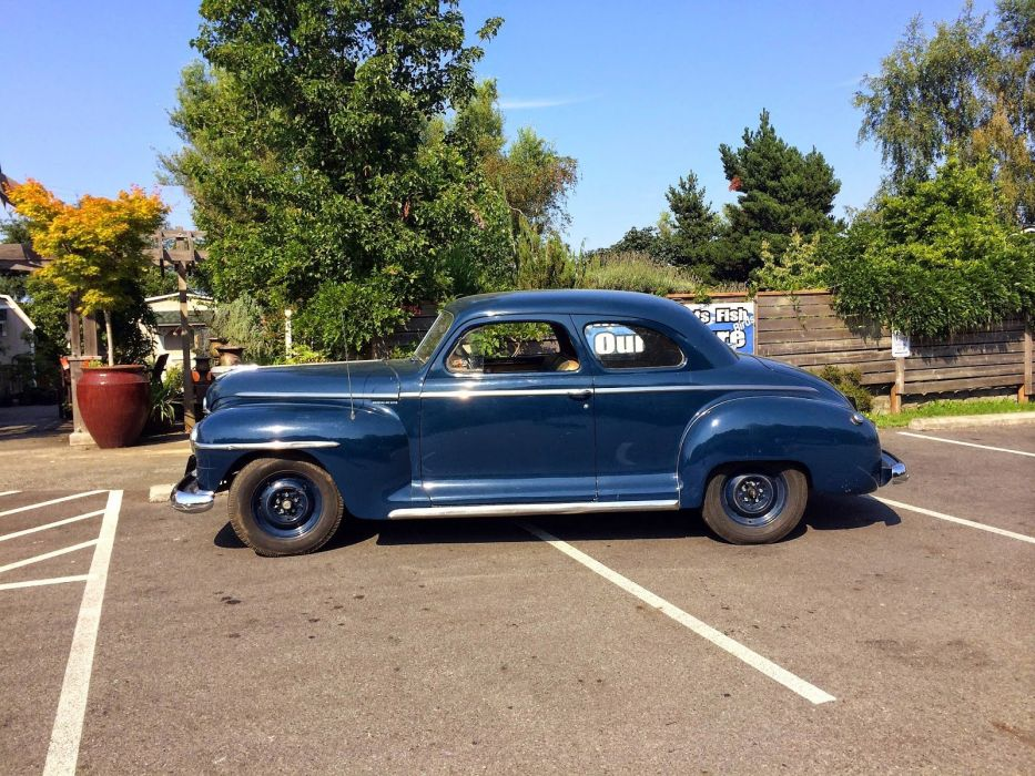 1947 Plymouth Special Deluxe Coupe Classic Old Retro Vintage USA 1600x1200-03 wallpaper