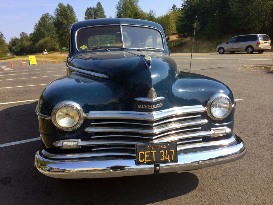 1947 Plymouth Special Deluxe Coupe Classic Old Retro Vintage USA 1600x1200-04 wallpaper