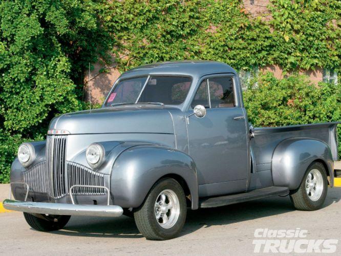 1947 Studebaker M5 Pickup Hotrod Streetrod Hot Rod Street USA 1600x1200-01 wallpaper