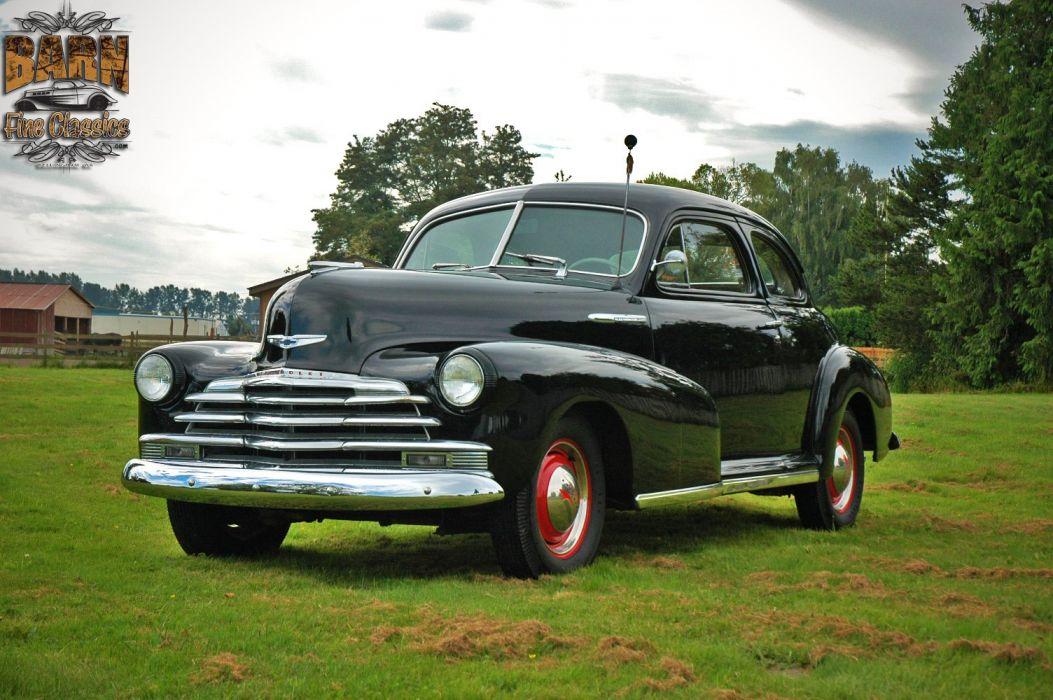 1948 Chevrolet Chevy Fleetmaster Coupe Classic Old Vintage USA 1500x1000-01 wallpaper