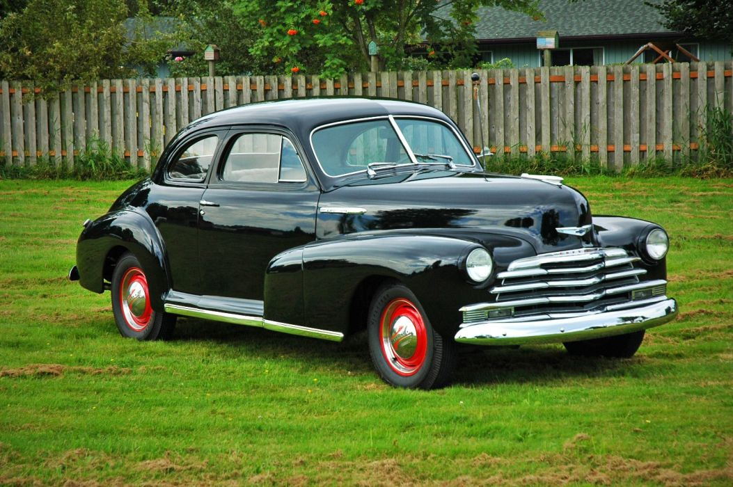 1948 Chevrolet Chevy Fleetmaster Coupe Classic Old Vintage USA 1500x1000-10 wallpaper