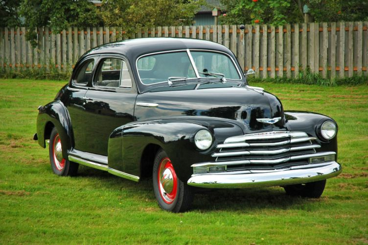 1948 Chevrolet Chevy Fleetmaster Coupe Classic Old Vintage USA 1500x1000-11 wallpaper