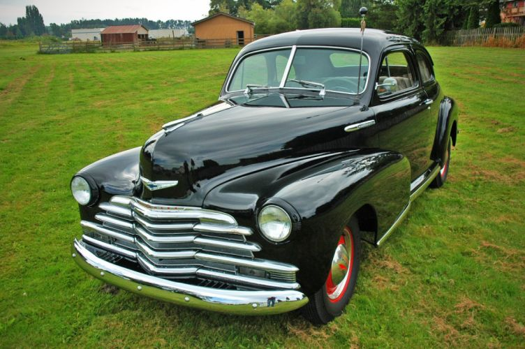 1948 Chevrolet Chevy Fleetmaster Coupe Classic Old Vintage USA 1500x1000-12 wallpaper
