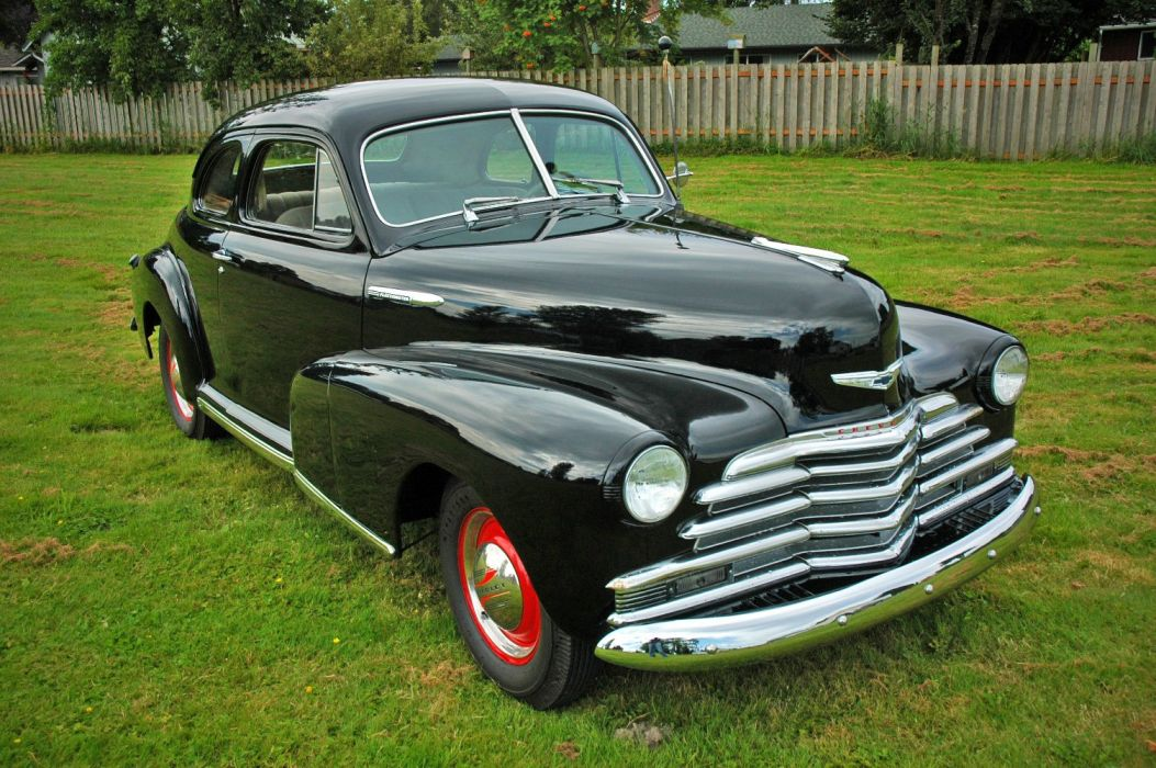 1948 Chevrolet Chevy Fleetmaster Coupe Classic Old Vintage USA 1500x1000-13 wallpaper