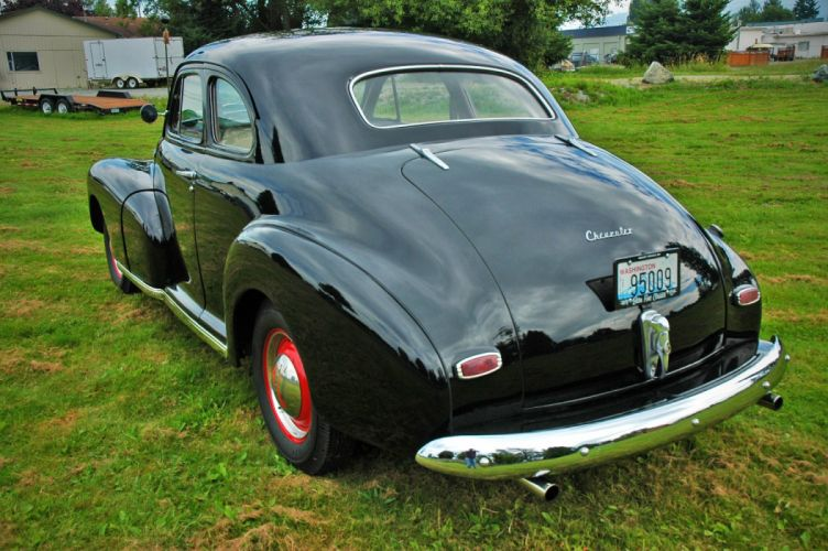 1948 Chevrolet Chevy Fleetmaster Coupe Classic Old Vintage USA 1500x1000-14 wallpaper