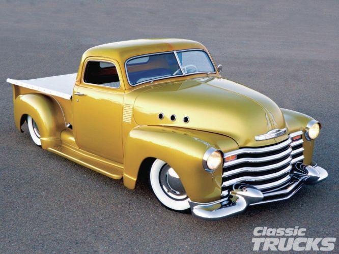 1948 Chevrolet Chevy 3100 Hotrod Hot Rod Custom Old School USA 1600x1200-06 wallpaper