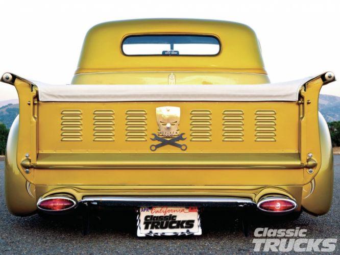 1948 Chevrolet Chevy 3100 Hotrod Hot Rod Custom Old School USA 1600x1200-07 wallpaper