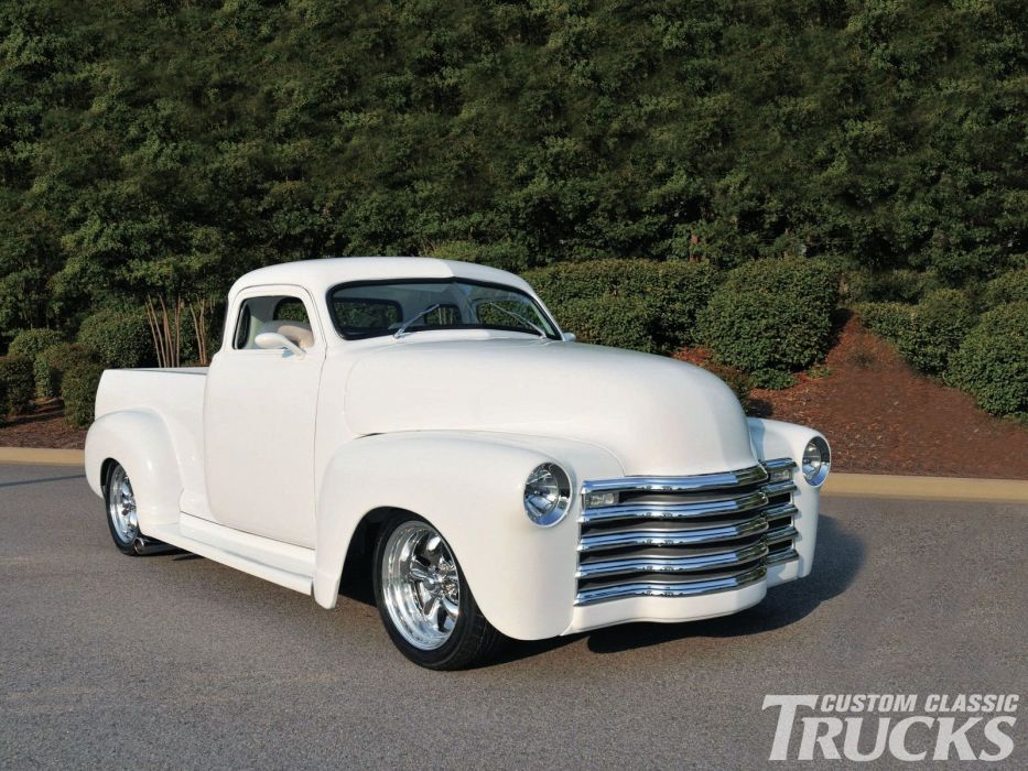 1948 Chevrolet Chevy 3100 Hotrod Streetrod Hot Rod Street Chopeed USA 1600x1200-05 wallpaper