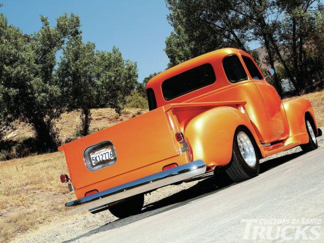 1948 Chevrolet Chevy 3100 Hotrod Streetrod Hot Rod Street USA 1600x1200-04 wallpaper