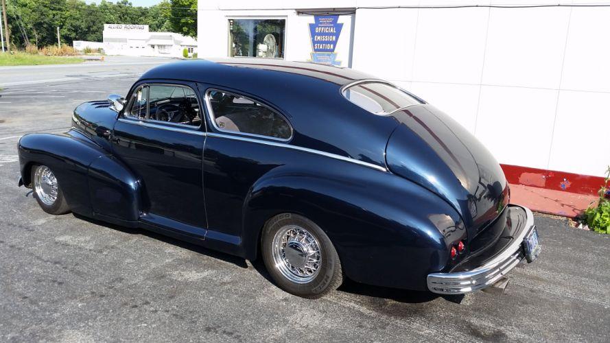 1948 Chevrolet Fleetline Custom Kustom Black USA 2448x1836-05 wallpaper