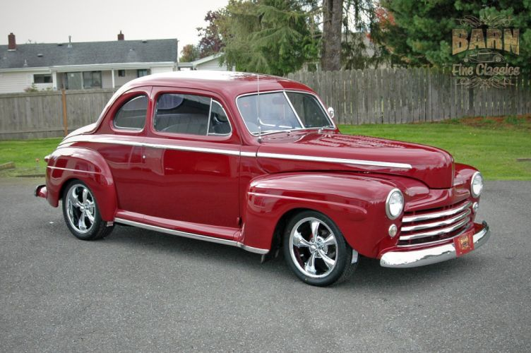 1948 Ford Coupe Hotrod Streetrod Hot Rod Street USA 1500x1000-08 wallpaper