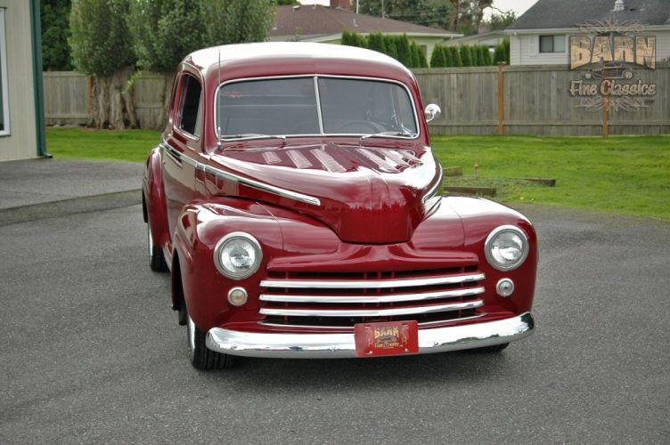 1948 Ford Coupe Hotrod Streetrod Hot Rod Street USA 1500x1000-09 wallpaper