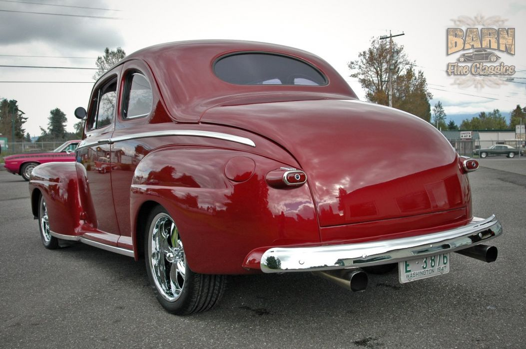 1948 Ford Coupe Hotrod Streetrod Hot Rod Street USA