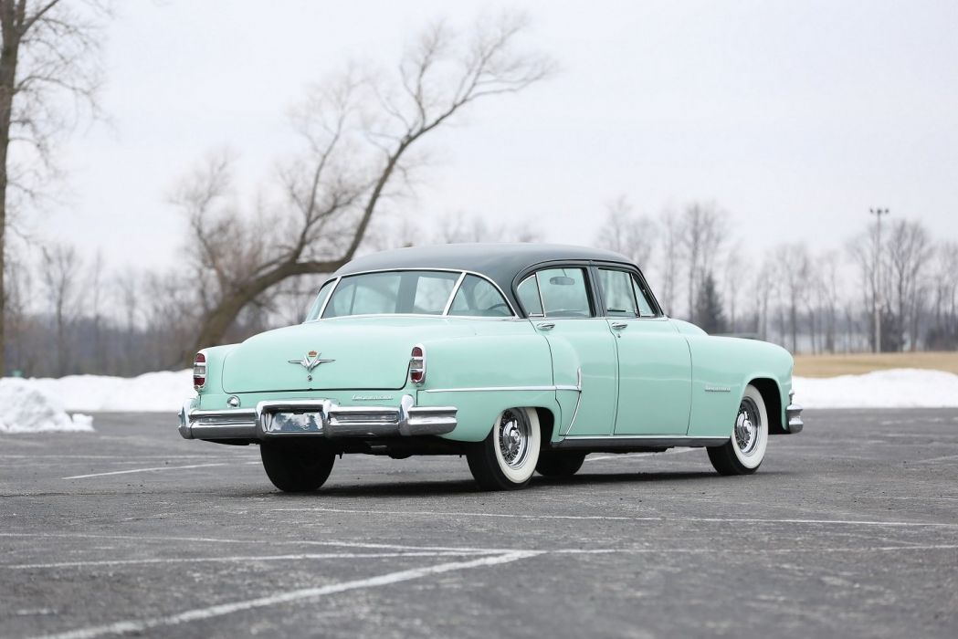 1953 Chrysler Custom Imperial 4-door Sedan cars classic wallpaper