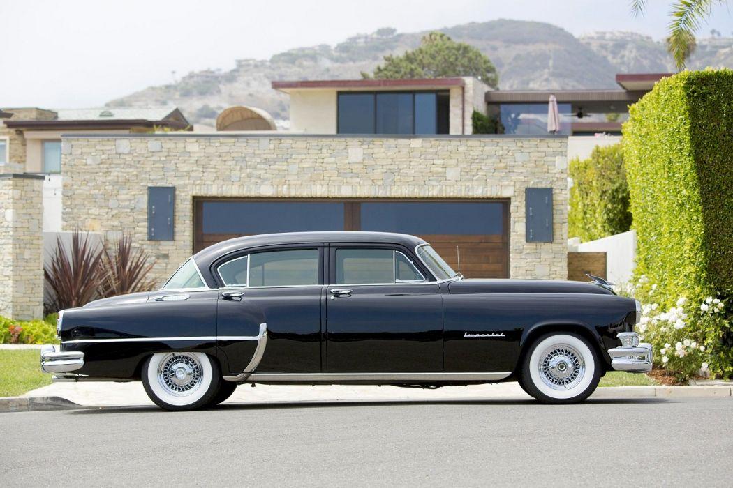 1953 Chrysler Custom Imperial 4-door Sedan cars classic wallpaper
